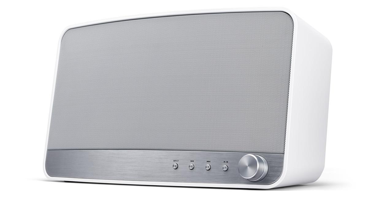 Pioneer bezdrát. repro. s WiFi a baterií bílý