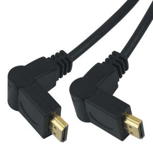 PremiumCord Kabel HDMI A - HDMI A M/M 2m, rotační