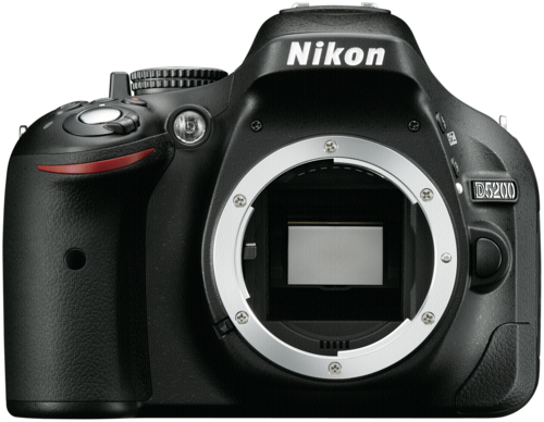 Zrcadlovka Nikon D5200 tělo, černá
