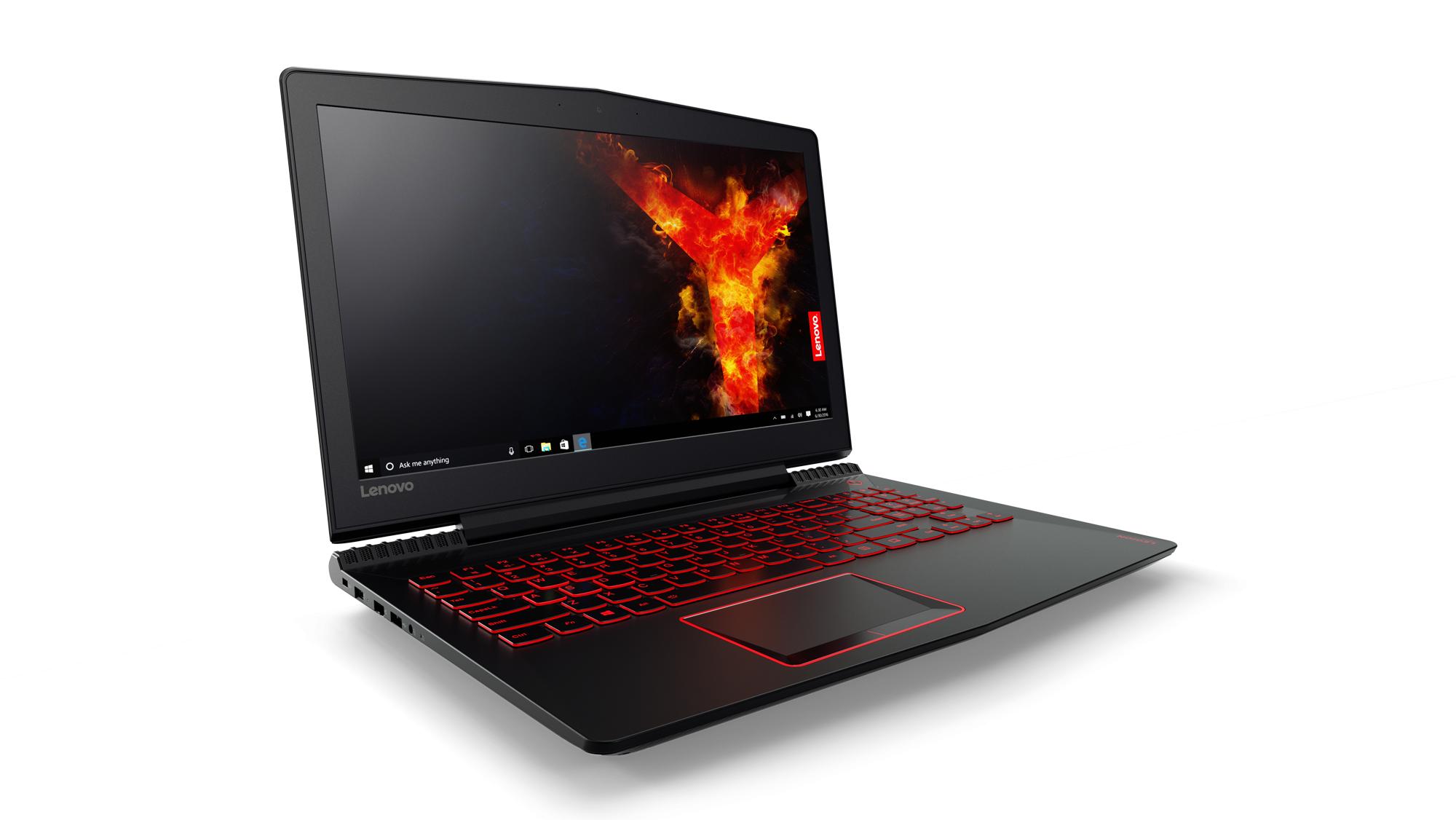 """Lenovo Legion Y520 i5-7300HQ 3,50GHz/8GB/SSD 128GB+1TB HDD/15,6"""" FHD/IPS/AG/GeForce 6GB/WIN10 černá 80YY000BCK"""