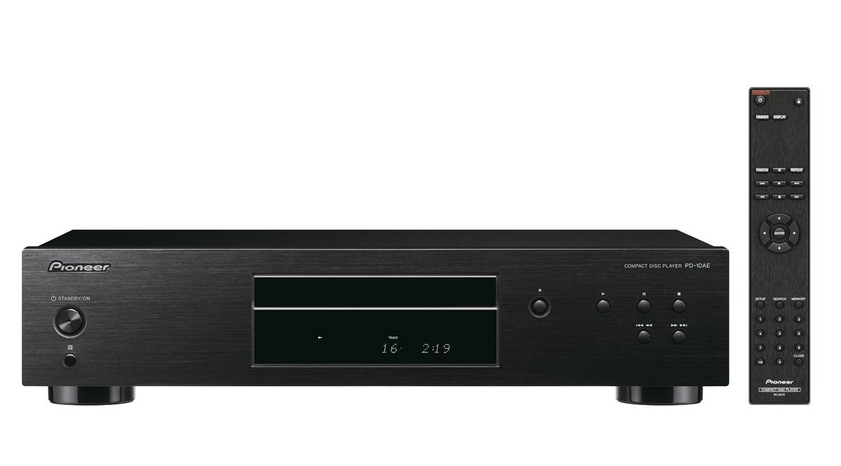 Pioneer audio CD přehrávač černý