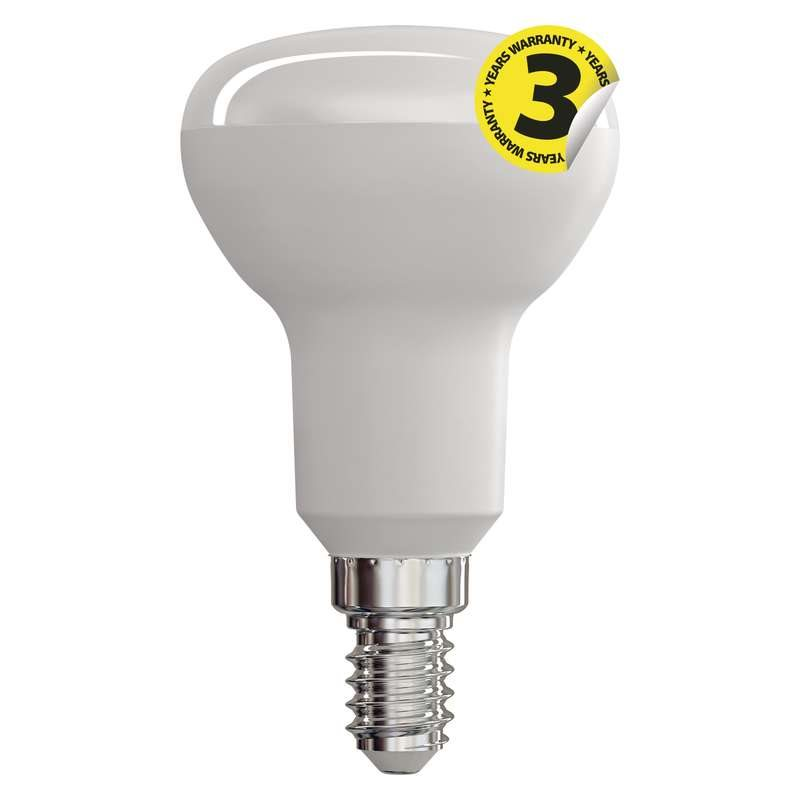 Emos LED žárovka REFLEKTOR R50, 6W/40W E14, WW teplá bílá, 470 lm, Classic A+