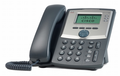 Cisco SPA303 SIP 3-line VOIP telefon , LCD displej