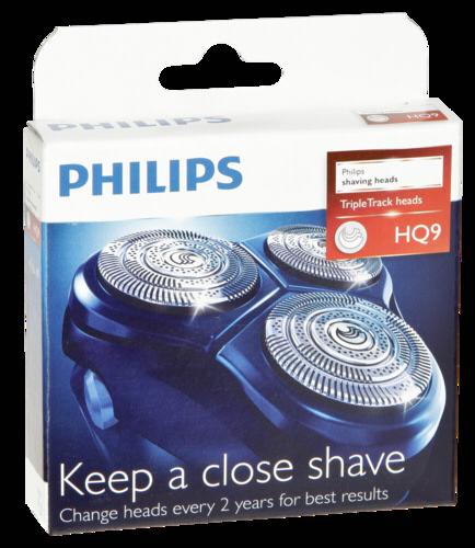 Holící frézky Philips HQ9/50, 3ks