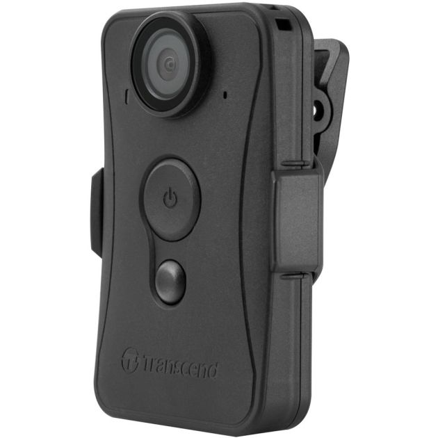 Transcend DrivePro Body 20 osobní kamera, Full HD 1080p, 32GB paměť, Wi-Fi, USB 2.0, černá