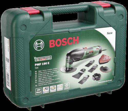 Bruska multifunkční Bosch PMF 190 E Set (0603100501)