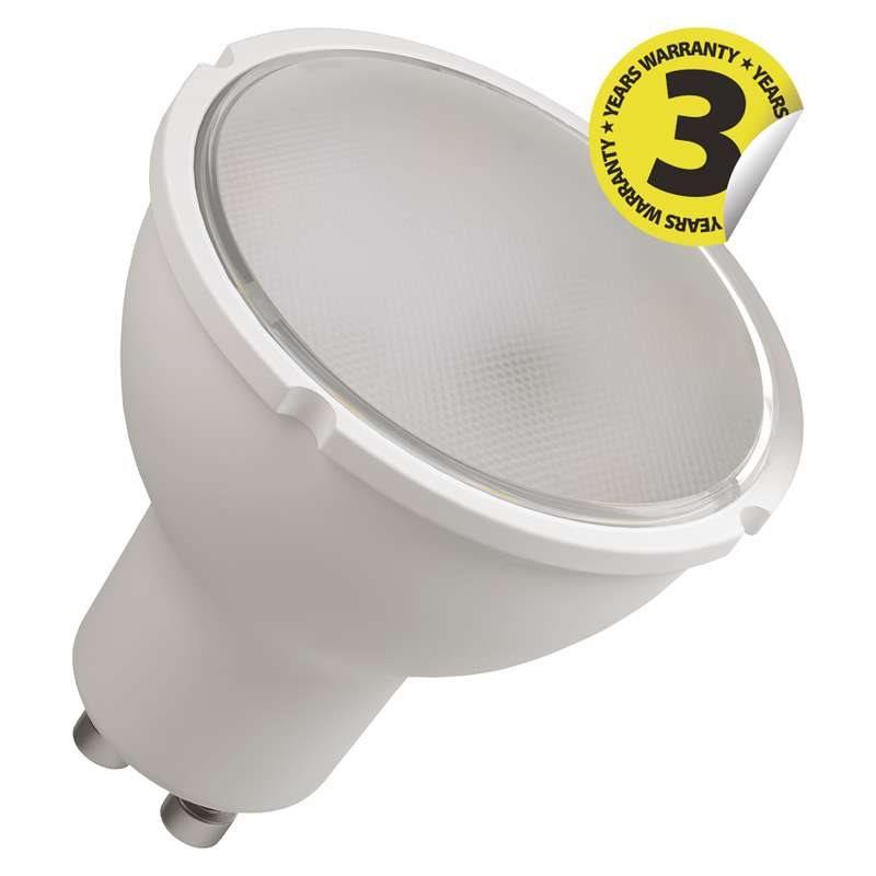 Emos LED žárovka MR16, 4.5W/32W GU10, WW teplá bílá, 350 lm, Classic A+