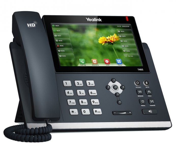 "Yealink SIP-T48S IP tel.,PoE, 7"" bar.LCD,29 prog.tl.,GigE"