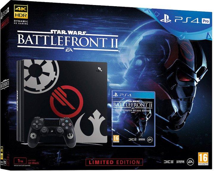 PS4 Pro - Playstation 4 Pro 1TB Star Wars+Star Wars BattleFront II