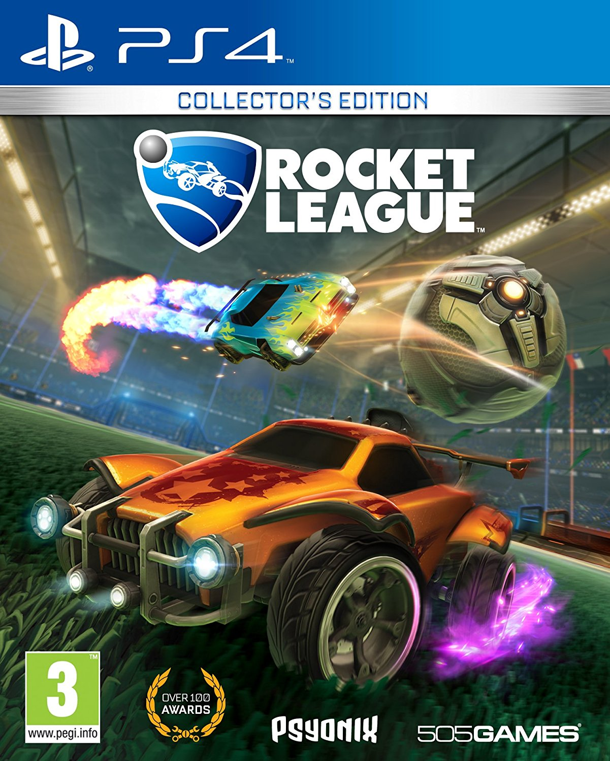 PS4 - ROCKET LEAGUE COLLECTOR'S EDITION