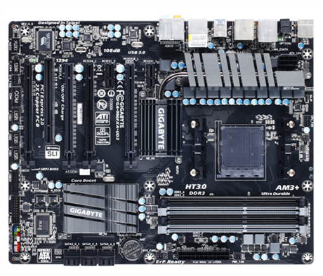 GIGABYTE MB Sc AM3+ 990FXA-UD3 R5, AMD 990FX, 4xDDR3