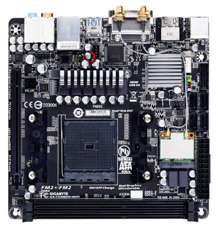 GIGABYTE F2A88XN-WIFI (rev. 3.0)