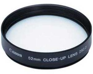 Canon 250D/52mm - makro předsádka
