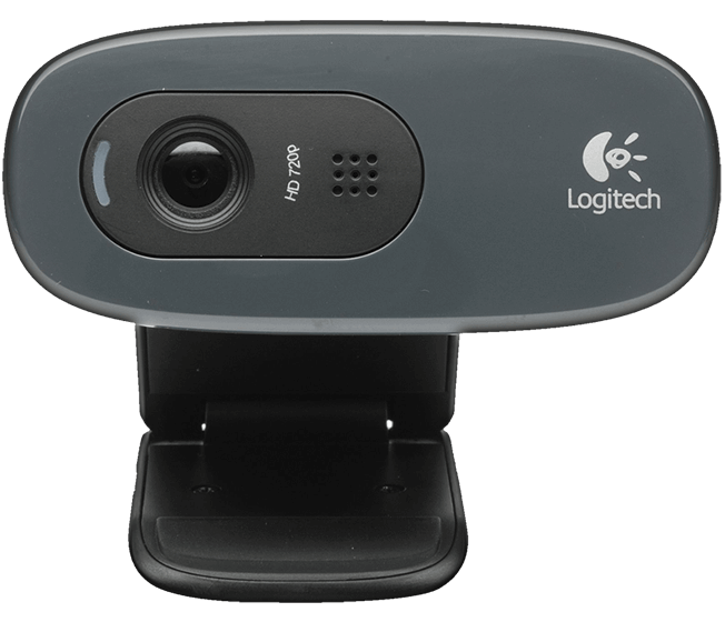 Logitech C270 HD Webcam, USB, EMEA