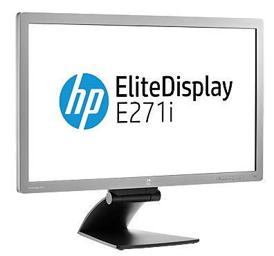 "HP EliteDisplay E271i 27"" / LED LCD 1920x1080 / 7ms / 250nits / 1000:1, 5000000:1 / VGA,DVI-D,DP,3xUSB / Swivel,Pivot"