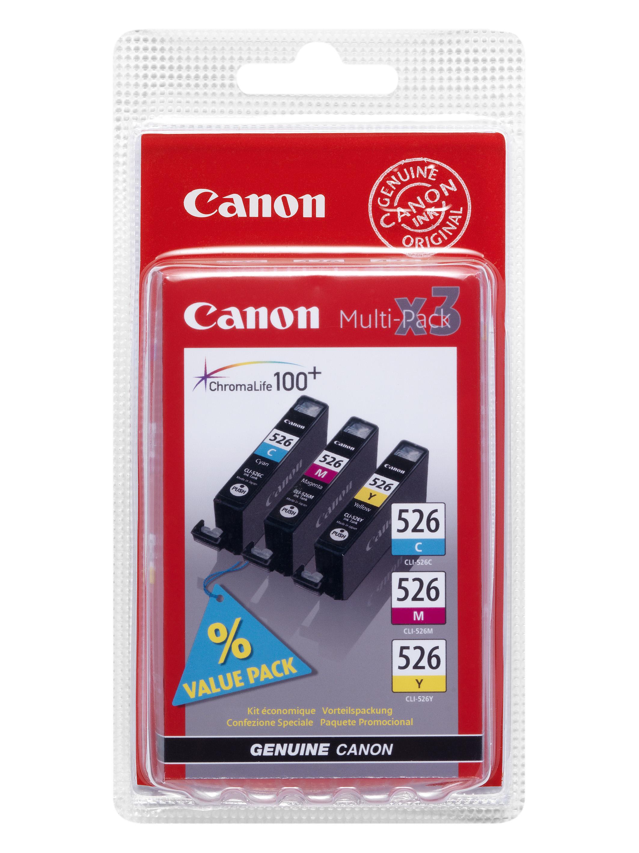 Canon cartridge CLI-526 C/M/Y MultiPack (CLI526CMY)