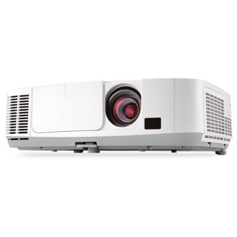 NEC projector P451W - LCD,4500lm, 1,7x zoom lens, Lens shift, H/V keystone, 6000h lamp life, WiDi optional, WXGA