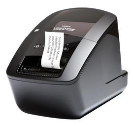 BROTHER tiskárna štítků QL-720NW - 62mm, termotisk, USB, RS232, WIFI, LAN, Profesionální Síťová Tiskárna Štítků