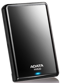 "ADATA HV620 2TB External 2.5"" HDD black"
