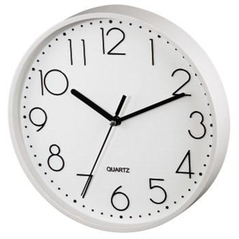 Hama nástěnné hodiny PG-220, tichý chod, bílé