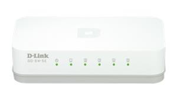 D-Link GO-SW-5E 5-Port 10/100M desktop switch