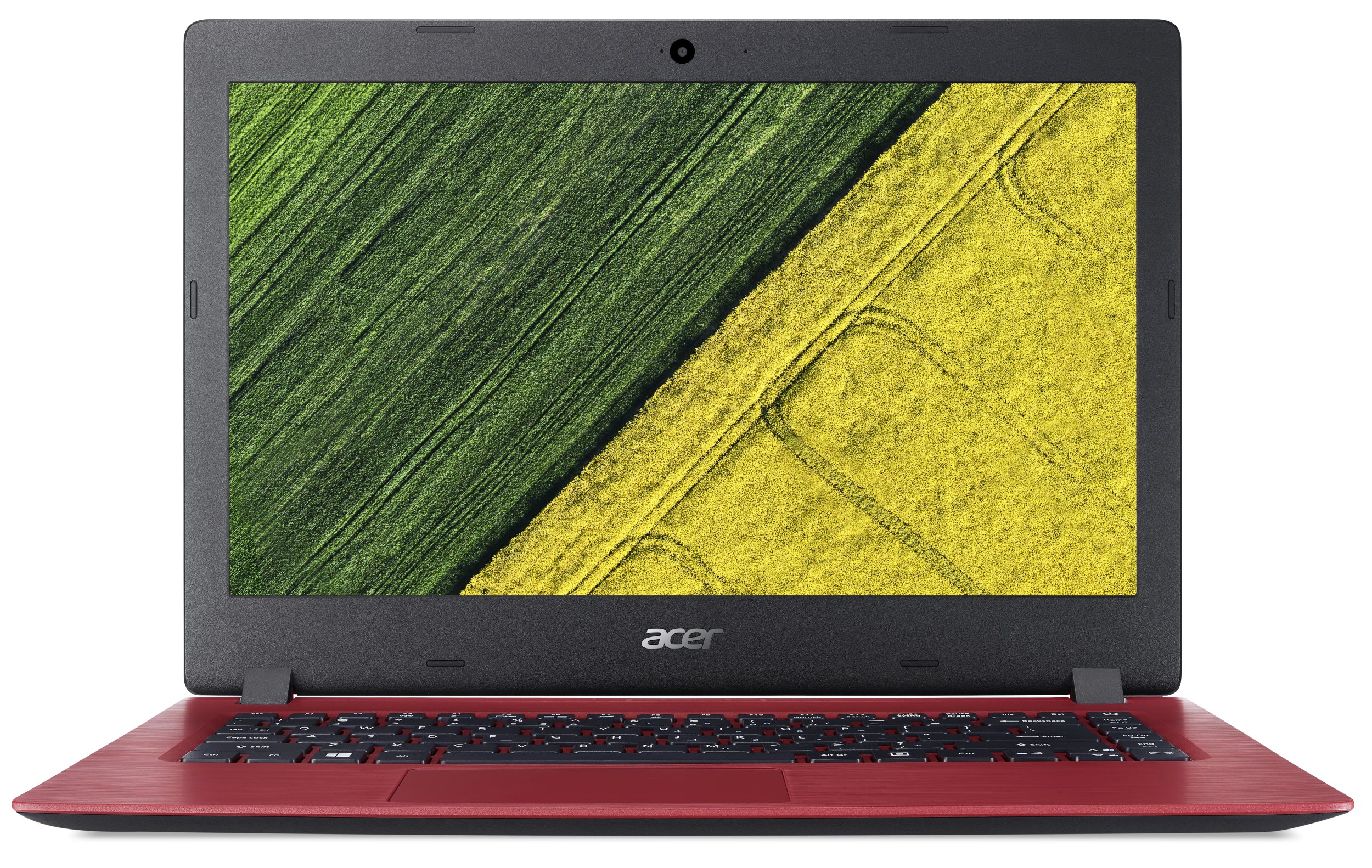 "Acer Aspire 1 (A114-31-C25P) Celeron N3350/4GB+N/A/64GB+N/A/14"" HD LCD/HD Graphics/BT/W10 Home/Red"