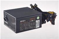 EUROCASE zdroj ECO+87 ATX-500WA-14-85(87), APFC, CE, CB, ErP2013, účinnost 87+
