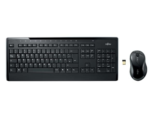 FUJITSU Klávesnice a myš bezdrátový set - LX901CZ/SK - Wireless Keyboard Set