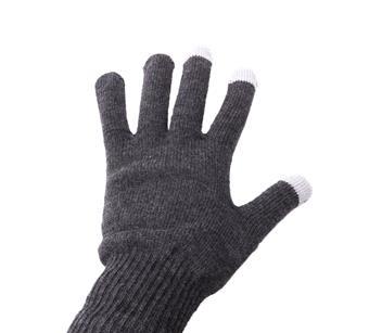 Rukavice NATEC na dotykový displej - šedé