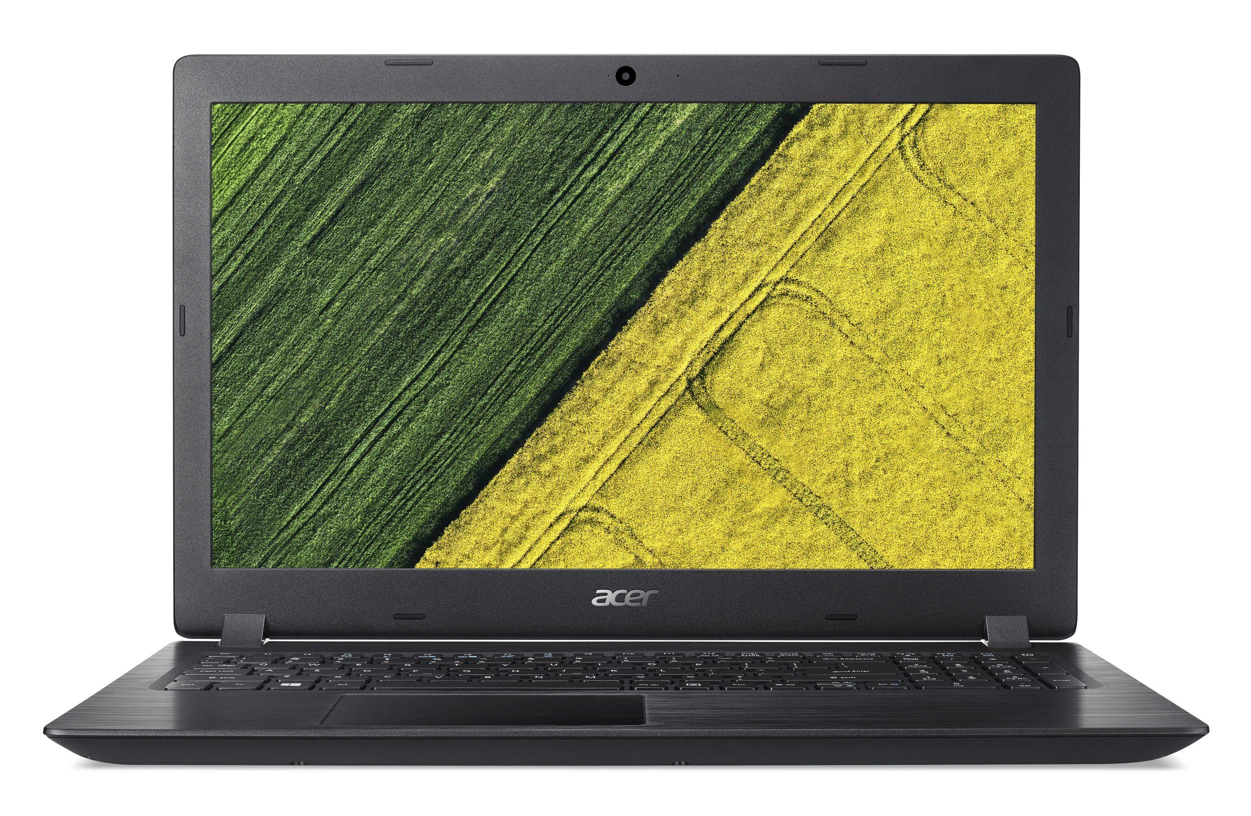 "Acer Aspire 3 (A315-51-55E3) Core i5-7200U/4GB+N/256GB+N/15.6""FHD LED LCD/HD Graphics/W10 Home/Black"