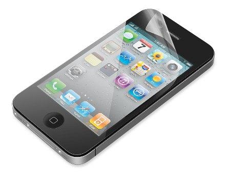 BELKIN Ochranné fólie ClearScreen iPhone 4/4S, 3ks