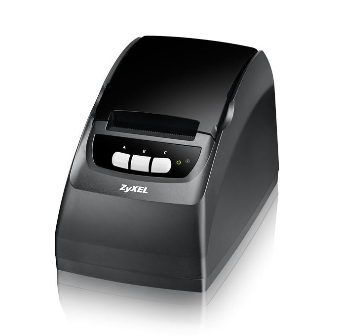 ZyXEL SP350E, One-click Printer at HotSpot UAG4100, 1x LAN