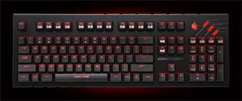 CM STORM mechanická klávesnice Quickfire Ultimate, 1000Hz/1ms, US verze, USB, black, BROWN switches, bílé podsvícení