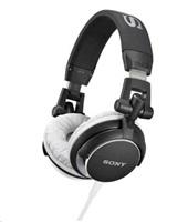SONY stereo sluchátka MDR-V55, černá