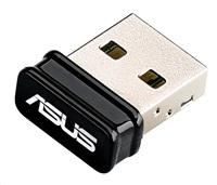 ASUS USB-N10 nano Wireless N150 Mini USB Adapter, 802.11n 150 Mb/s