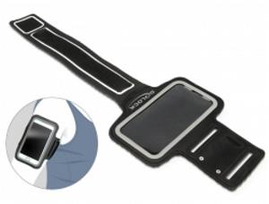 Delock Sportovní černý náramek pro Smartphony