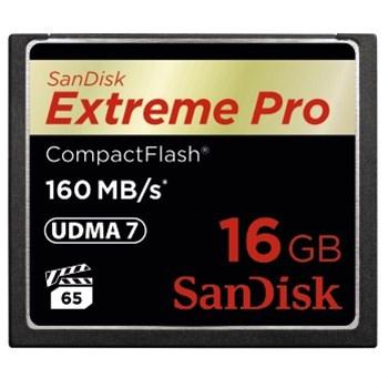 SanDisk Extreme Pro CF 16 GB 160 MB/s VPG 65, UDMA 7
