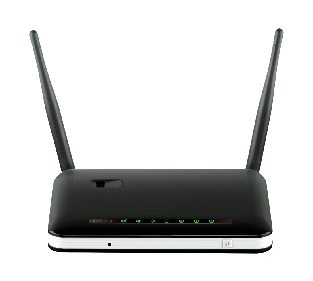 D-Link DWR-116/E Wireless N300 Multi-WAN Router