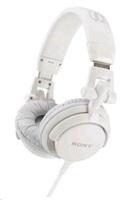 SONY stereo sluchátka MDR-V55, bílá