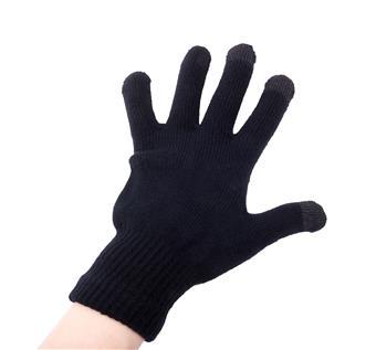Natec Rukavice pro dotykové displeje (smartphony/tablety/PSP), černé