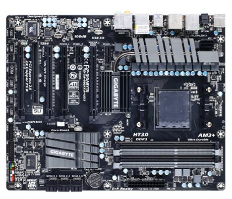 GIGABYTE MB Sc AM3+ 78LMT-USB3, AMD 760G, 4xDDR3, VGA, mATX