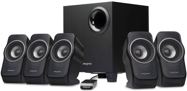 Creative repro Inspire A550 5.1 (12W+5x5W RMS)