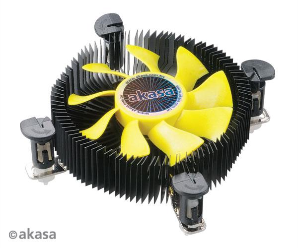 AKASA chladič CPU - Intel - K25 ITX