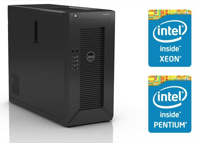DELL PE T20 Xeon E3-1225 v3/4GB/1TB