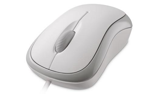 Microsoft myš L2 Basic Opt Mse Mac/Win USB White