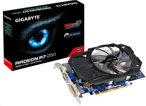 GIGABYTE R7 250 2GB (128) aktiv D H Ds D3
