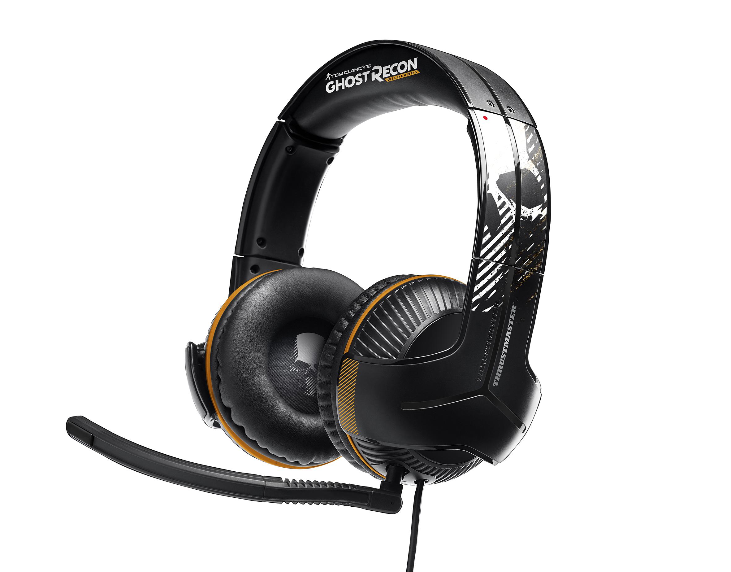Herní sluchátka s mikrofonem Thrustmaster Y-350P GhostRecon EMEA edice pro PS4