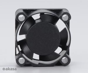 ventilátor Akasa - 2,5 cm - černý