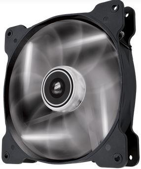 Corsair Air Series AF140 LED White Quiet Edition, 140mm vent.,25dBA, Single pack