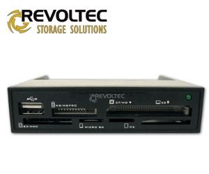 Revoltec interní 3.5'' čtečka paměťových karet Procyon 1.5, USB 2.0